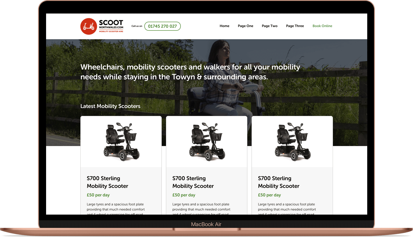 Scoot North Wales - Accessible Website
